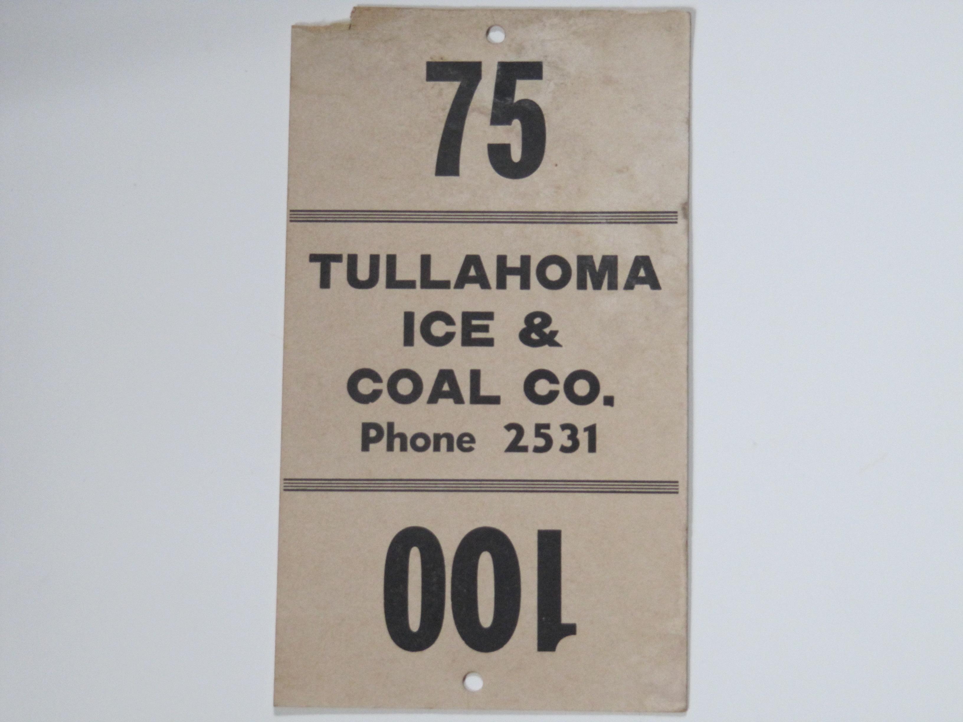 Tullahoma I ce & Coal Co.