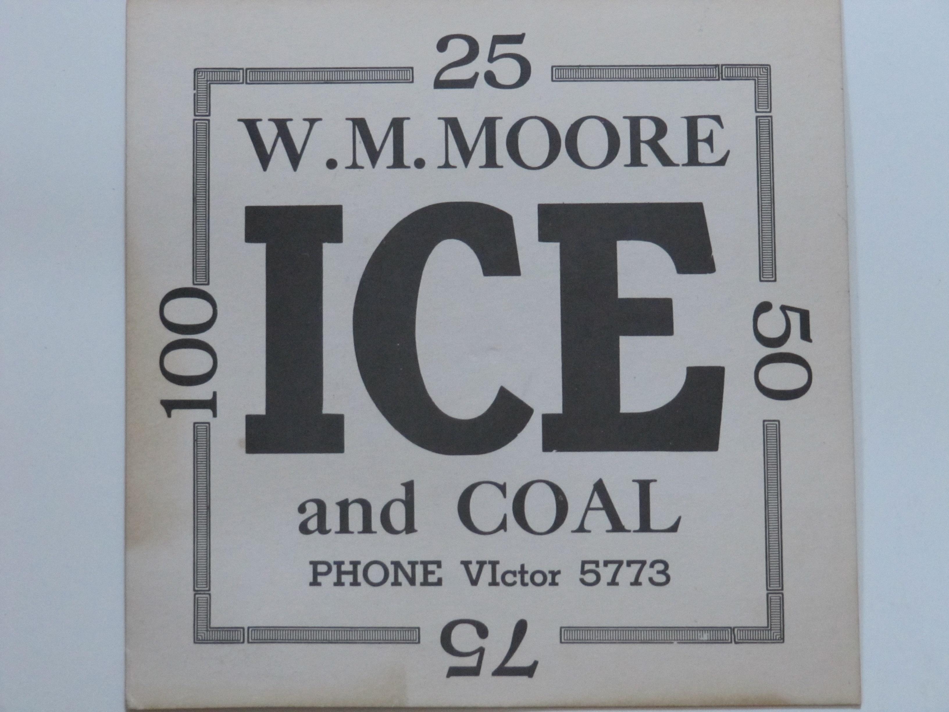 W.M.Moore Ice