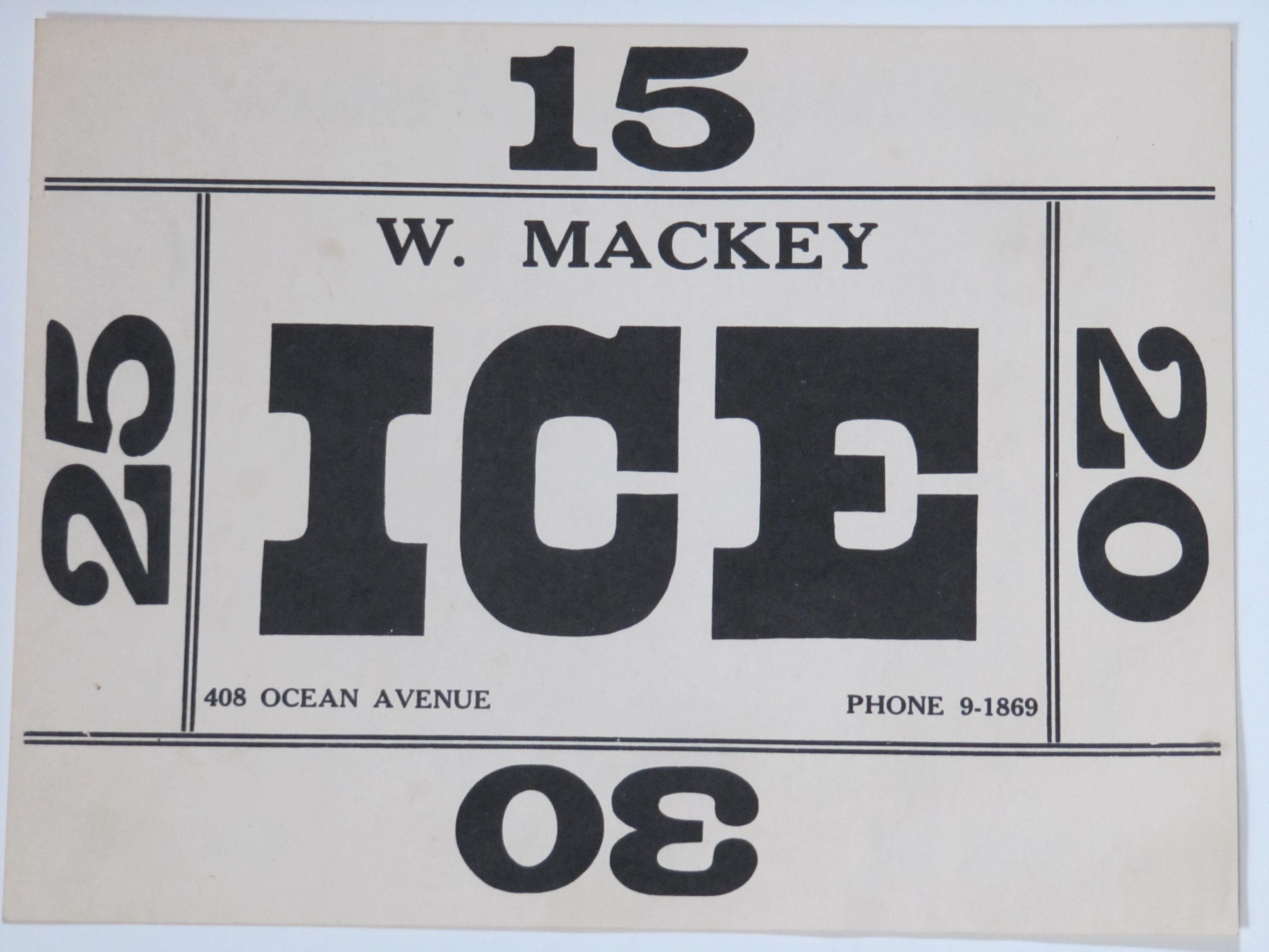 W.Mackey Ice