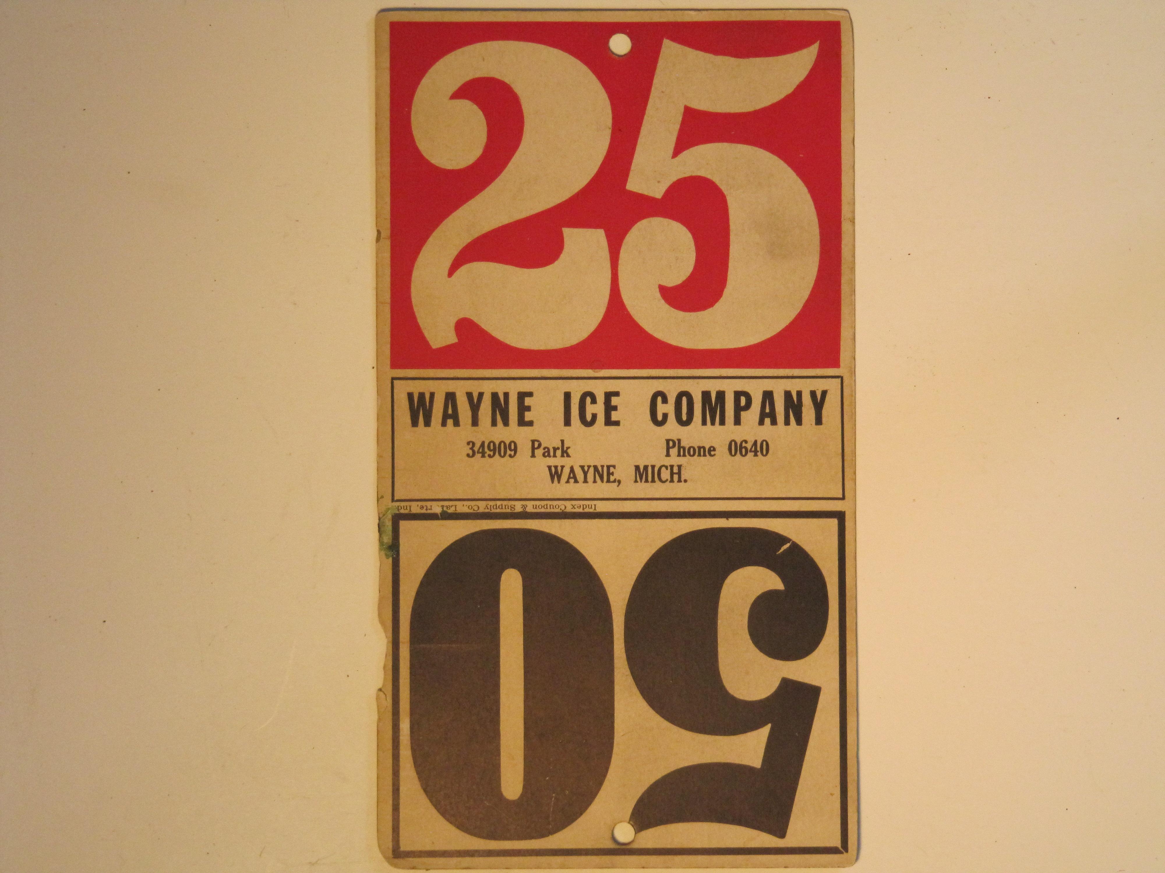 Wayne Ice Co.