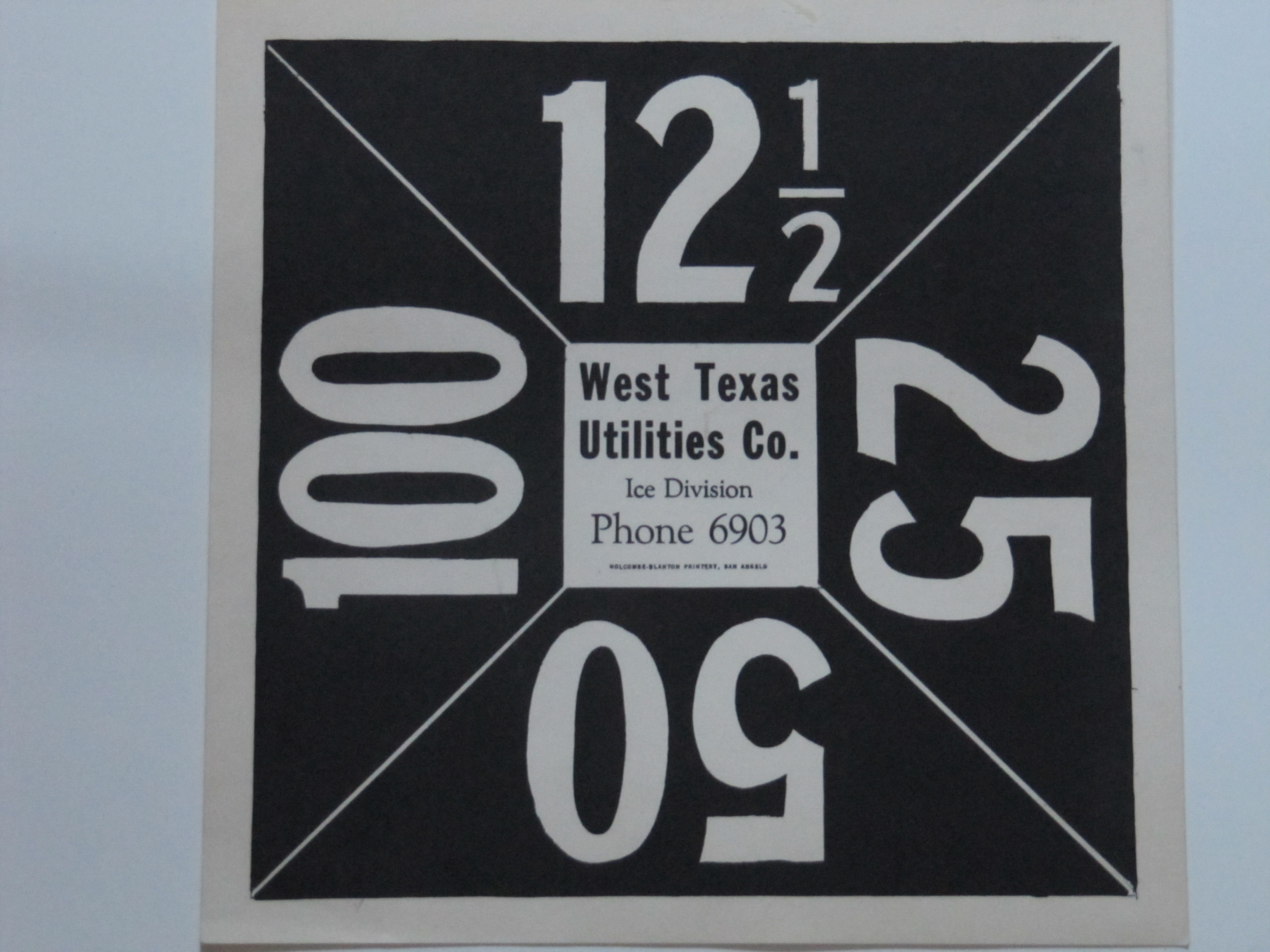 West Texas Utilities Ice Co.