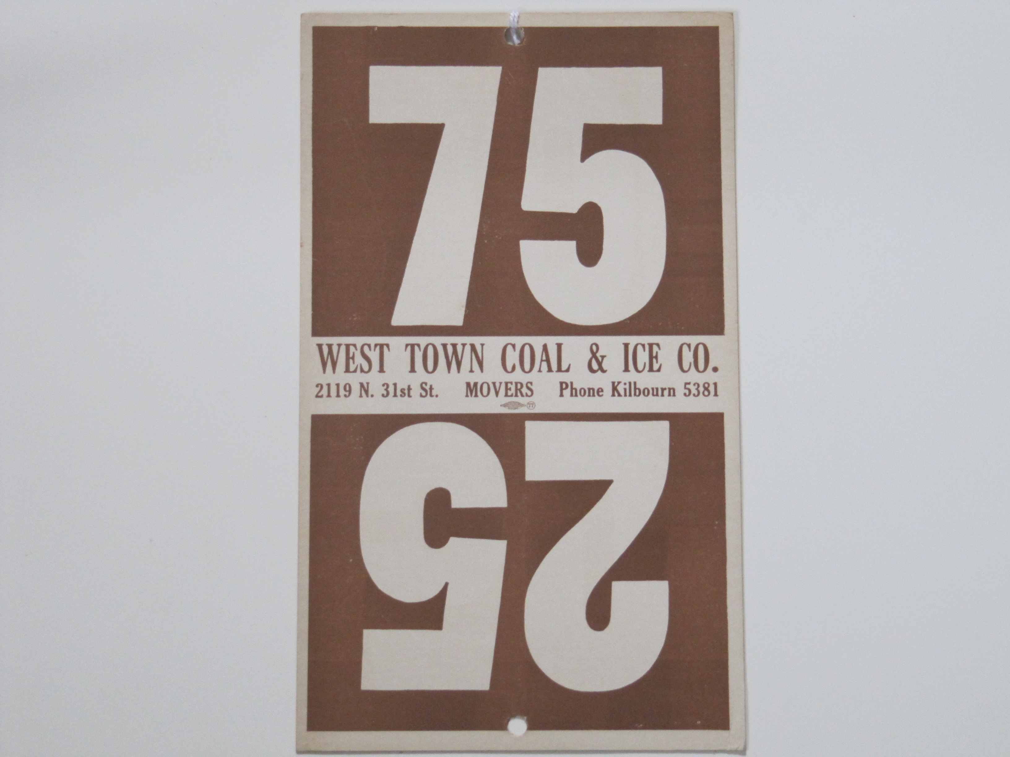 West Town Coal & Ice Co.