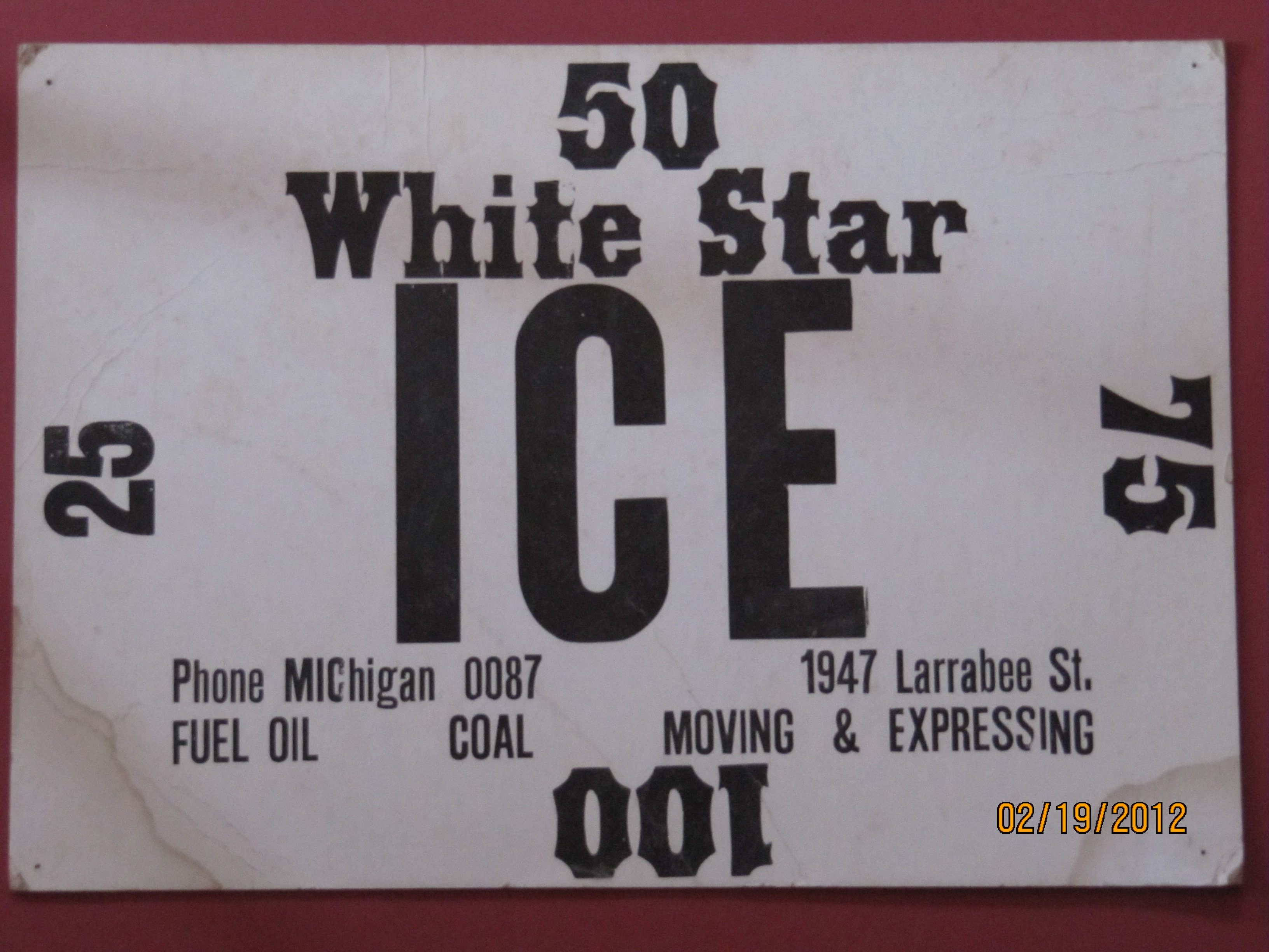 White Star Ice