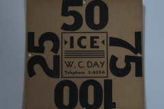 W.C.Day Ice