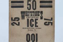 Whetstone's Ice