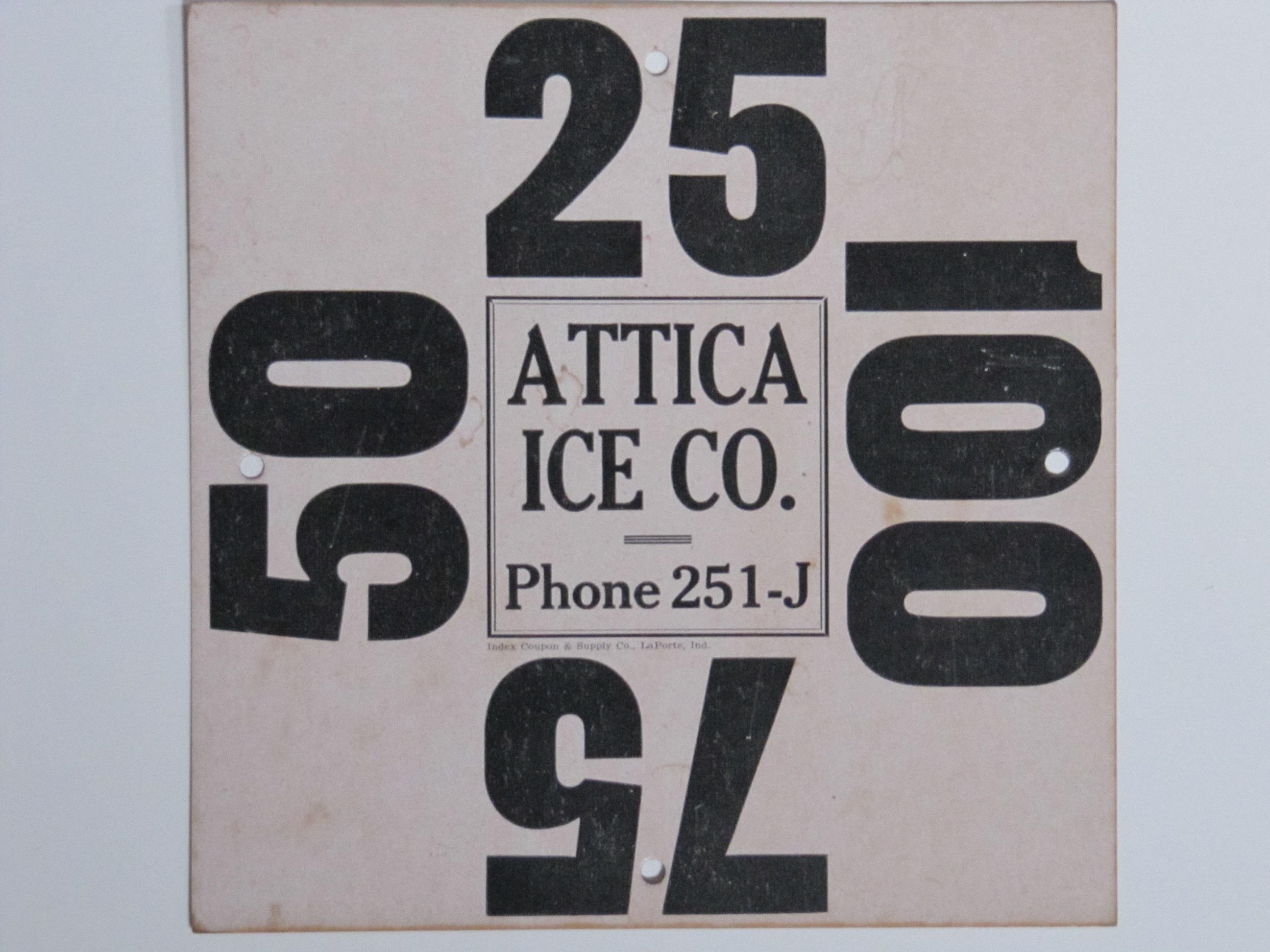 Attica Ice