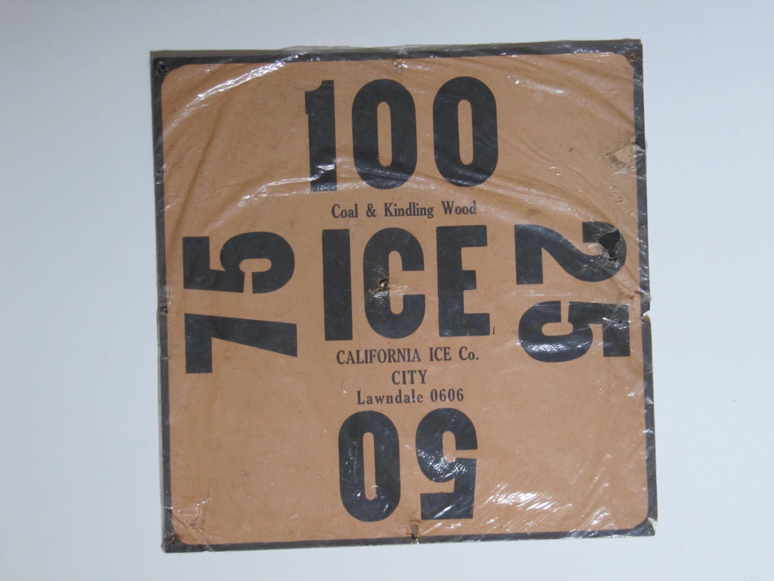 California Ice Co.