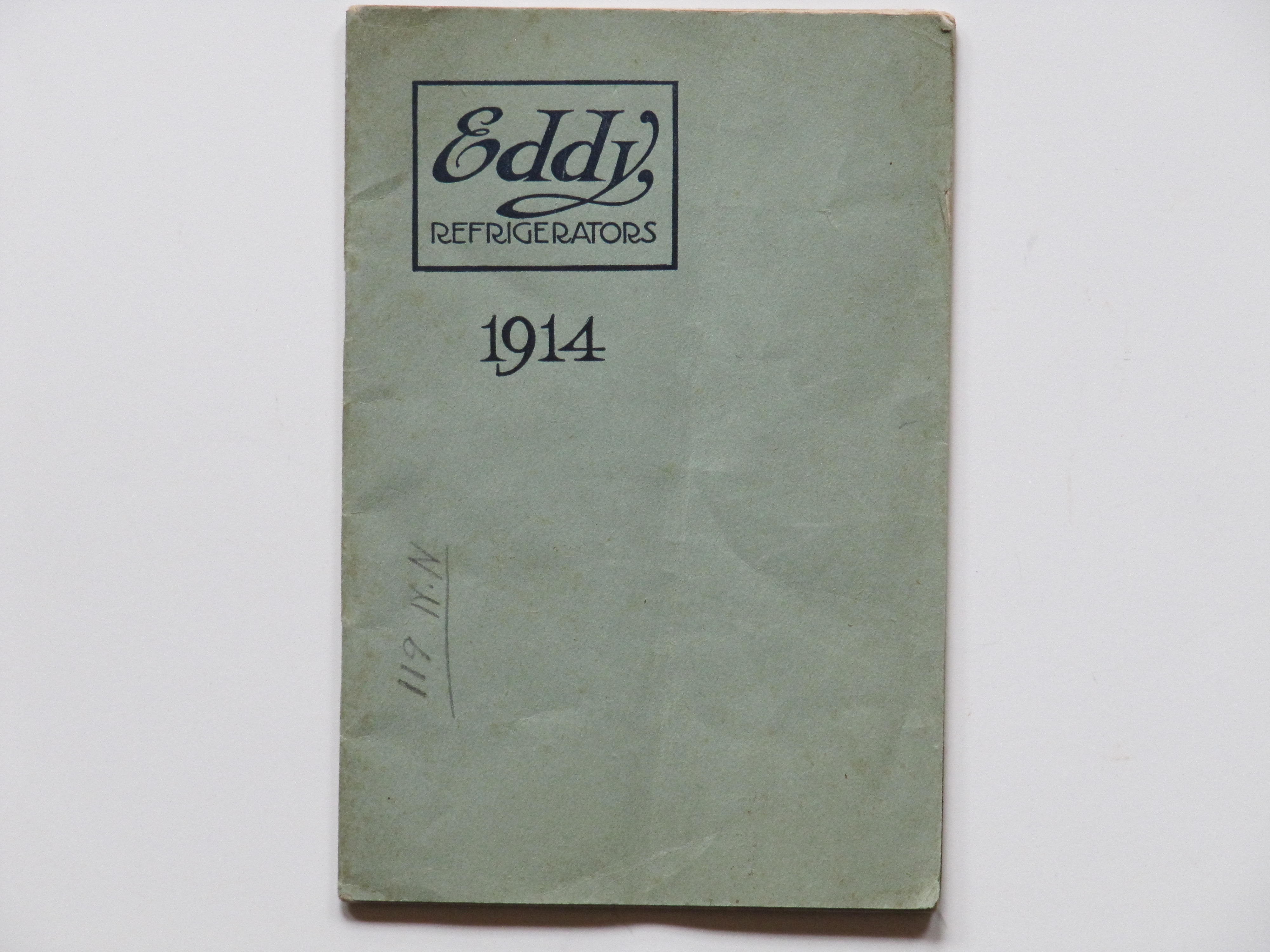 Eddy Refrigerators 1914