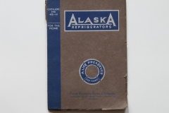 Alaska Refrigerators No 45-H