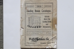 Cooling Room Catalog BA Stevens Co, Toledo Ohio