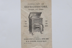 Eureka Dry Air Refrigerators, Boston Mass
