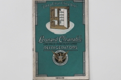 Leonard Cleanable 1919-1920