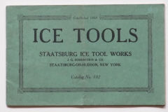 Staatsburg ice Tools Works Cat 102