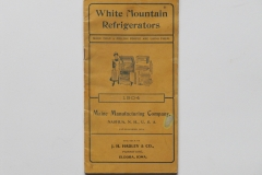 White Mountain Refrigerators 1904