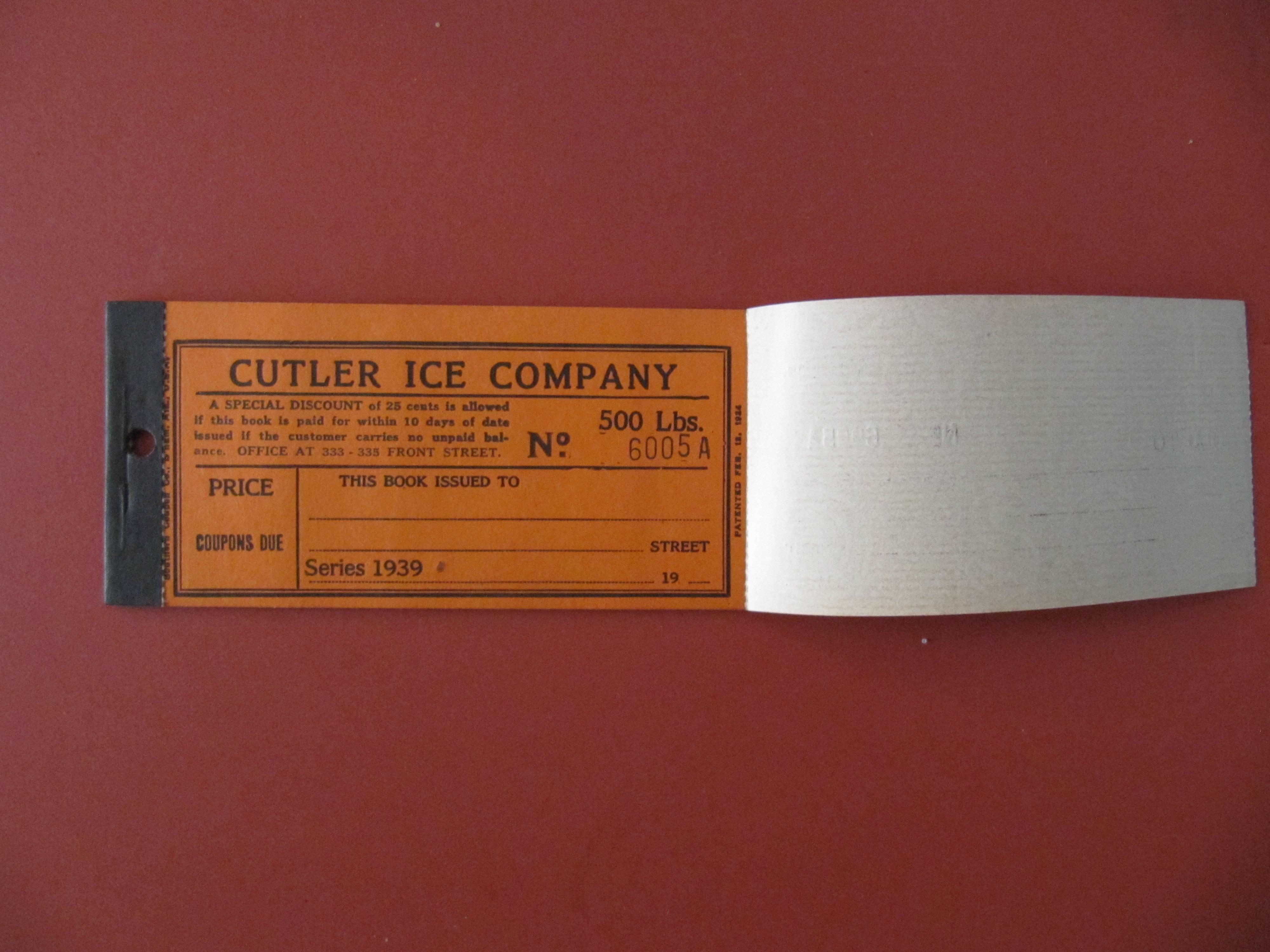 CutlerIceCo500_circa1939