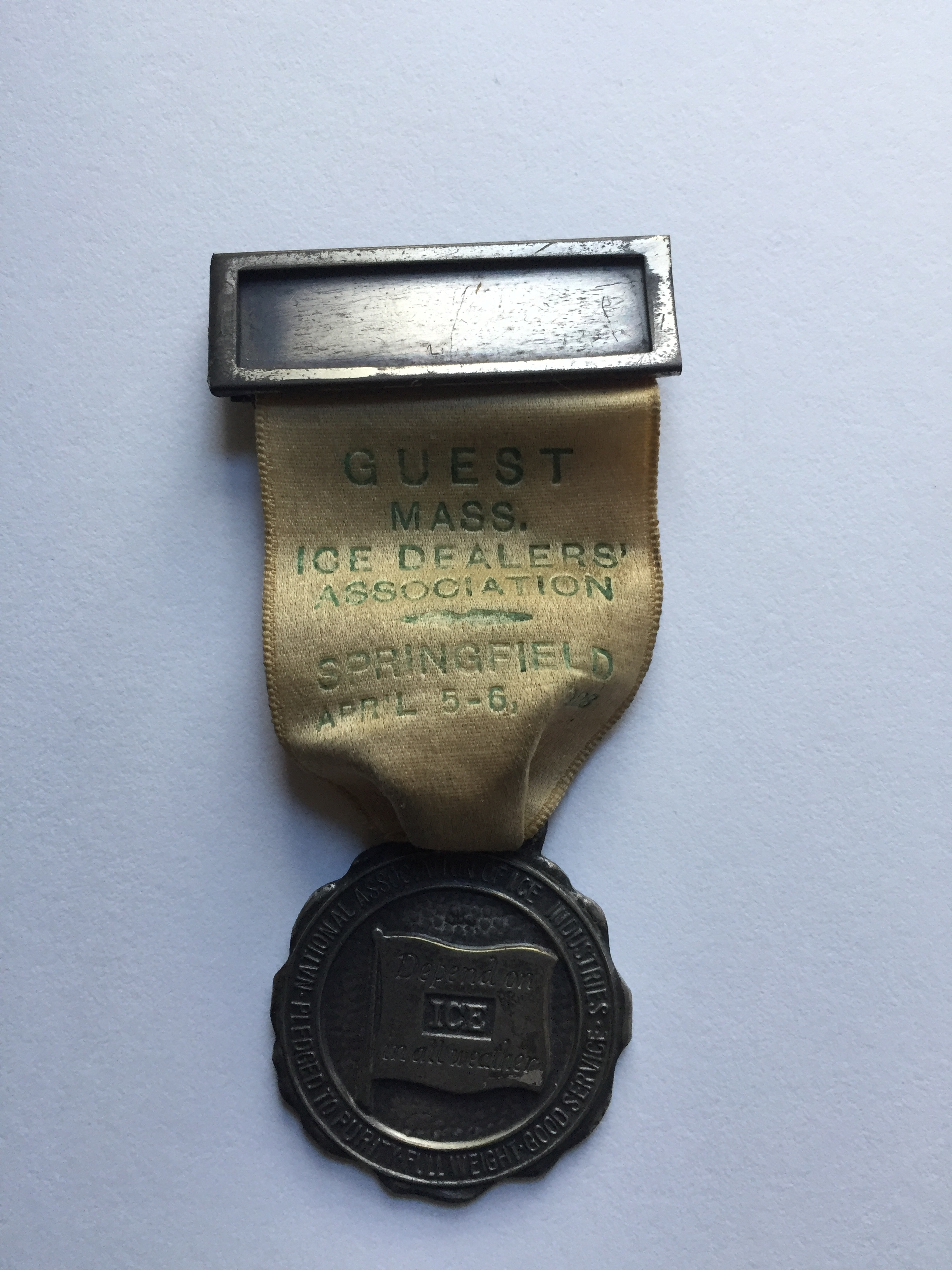 1928 Ice Convention Pin