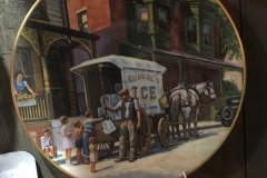 Ice wagon plate