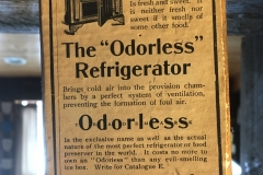 Odorless sign