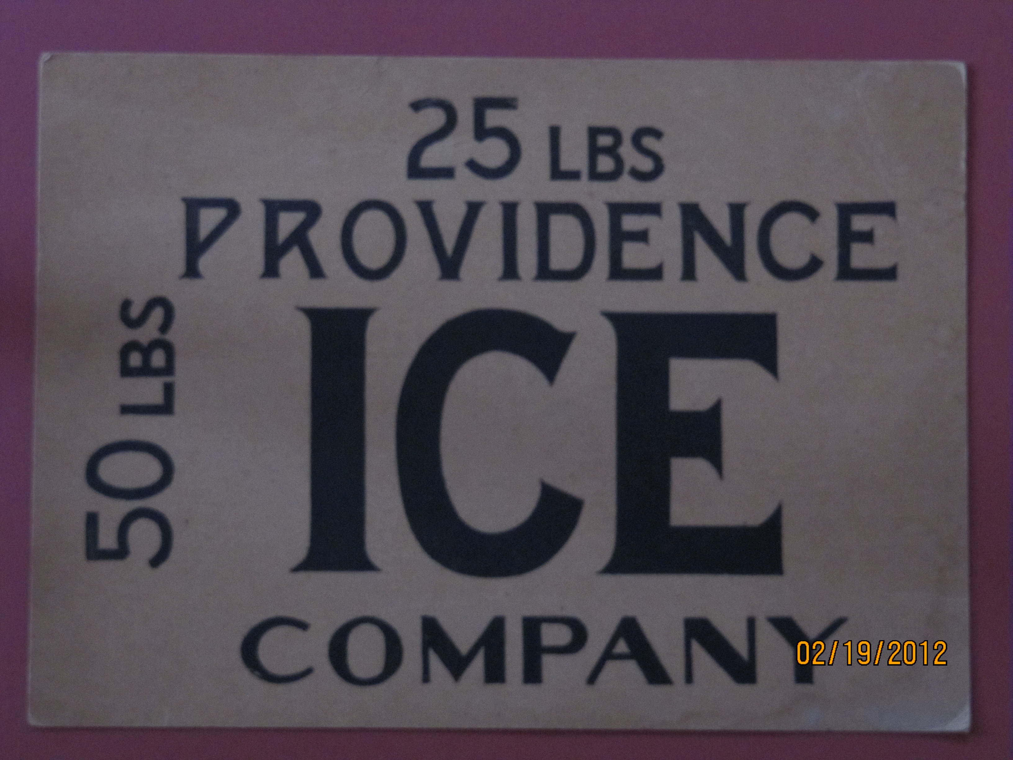 Providence Ice Co.